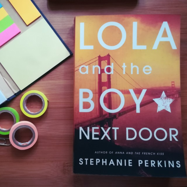 20181020 lola and the boy next door by stephanie perkins